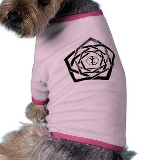 Erisian Mandala Reverse Dog Tee Shirt