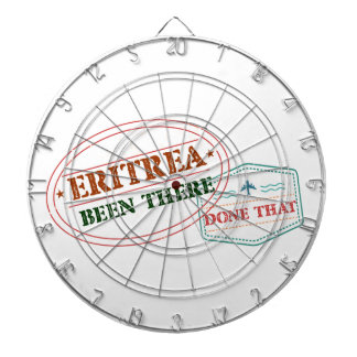 Eritrea Been There Done That Dartboard