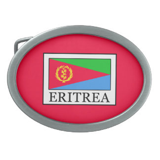 Eritrea Belt Buckle