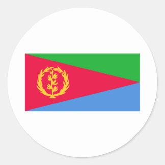 Eritrea Classic Round Sticker