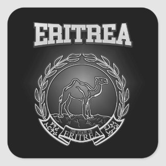 Eritrea  Coat of Arms Square Sticker