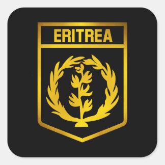 Eritrea Emblem Square Sticker