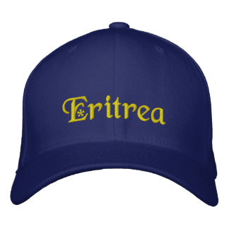 Eritrea Embroidered Hat