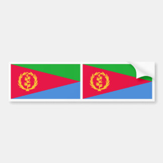 Eritrea Flag Bumper Sticker