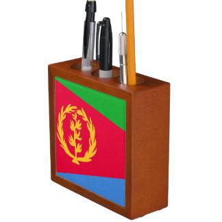 Eritrea Flag Desk Organiser