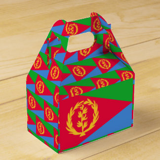 Eritrea Flag Favour Box