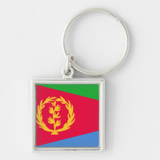 Eritrea Flag Key Ring