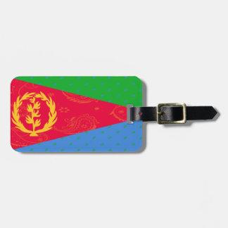 Eritrea Flag Luggage Tag