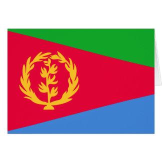 Eritrea Flag Note Card