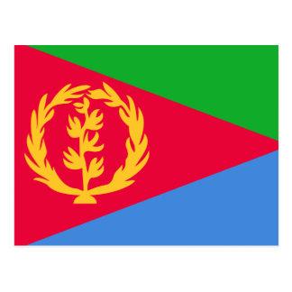 Eritrea Flag Postcard