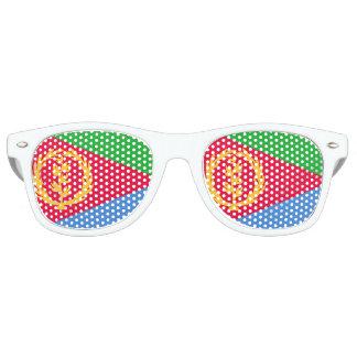 Eritrea Flag Retro Sunglasses