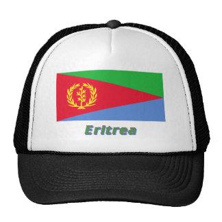 Eritrea Flag with Name Cap