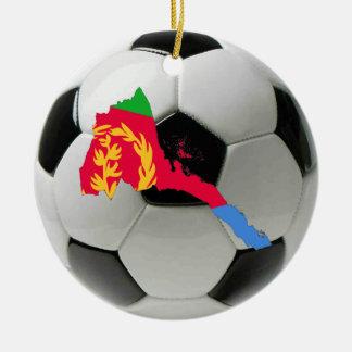 Eritrea football soccer ornament