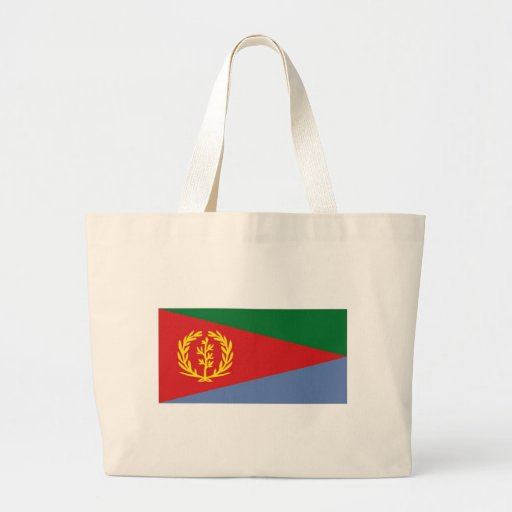 Eritrea National Flag Tote Bags