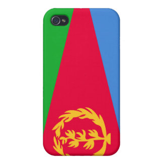 Eritrea National Nation Flag  iPhone 4 Cover