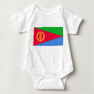 Eritrea National World Flag Baby Bodysuit