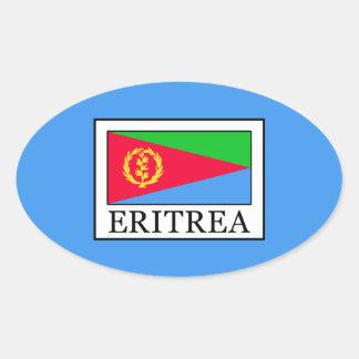 Eritrea Oval Sticker