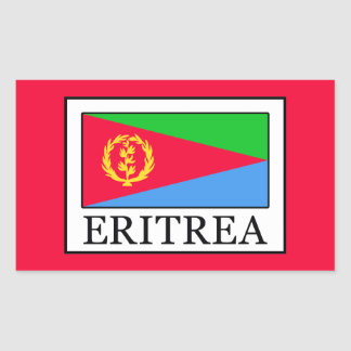 Eritrea Rectangular Sticker