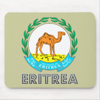 Eritrean Emblem Mouse Pad