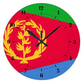 Eritrean flag Clocks