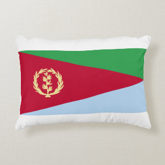 Eritrean Flag Decorative Cushion