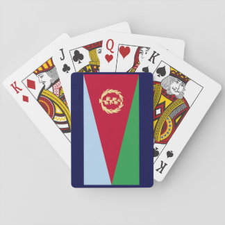 Eritrean Flag Playing Cards