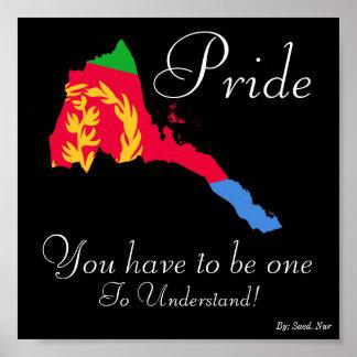 eritrean pride Poster