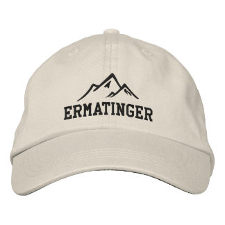 Ermatinger Mountain Climber Embroidered Hat