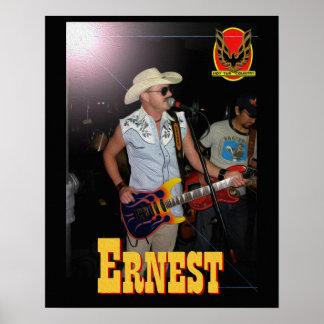 Ernest Hot Tub Poster