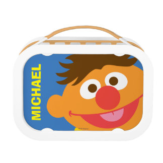 Ernie Face | Add Your Name Lunch Box
