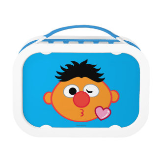 Ernie Face Throwing a Kiss Lunch Box