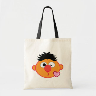 Ernie Face Throwing a Kiss Tote Bag