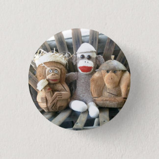 Ernie the Sock Monkey and Friends Pin