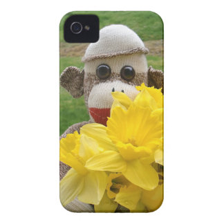 Ernie the Sock Monkey Daffodil iPhone 4/4S Case