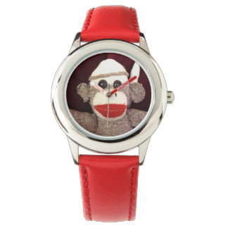 Ernie the Sock Monkey Wrist Watch