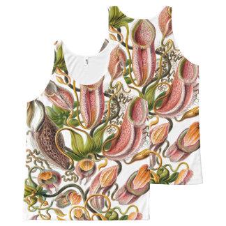 Ernst Haeckel Art Print:flowers All-Over Print Singlet