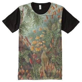 Ernst Haeckel Art Print:Muscinae All-Over Print T-Shirt