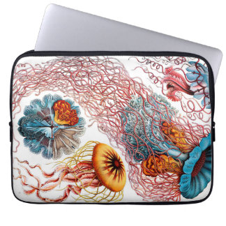 Ernst Haeckel Discomedusae Jellyfish Laptop Sleeve