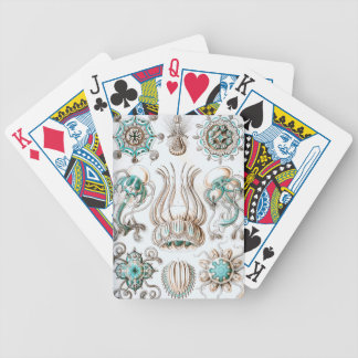 Ernst Haeckel Narcomedusae jellyfish! Bicycle Playing Cards