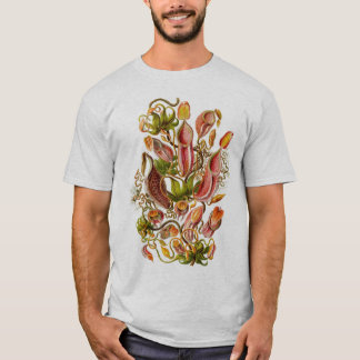 Ernst Haeckel - Nepenthaceae Tshirt - Customized