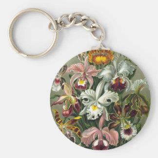 Ernst Haeckel - Orchidae Key Ring