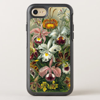 Ernst Haeckel Orchids, Vintage Rainforest Flowers OtterBox Symmetry iPhone 7 Case