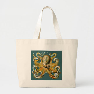 Ernst Haeckel's Octopus Jumbo Tote Bag