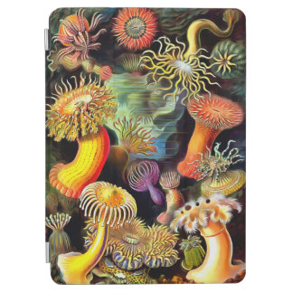 Ernst Haeckel Sea Anemones Vintage Art iPad Air Cover
