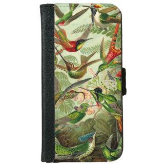 Ernst Haeckel Trochilidae Hummingbird iPhone 6 Wallet Case