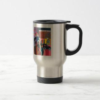 Ernst Ludwig Kirchner- Store in the Rain Stainless Steel Travel Mug