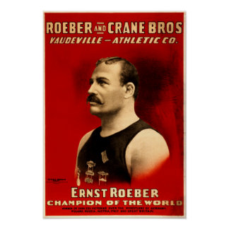 Ernst Roeber, Champion of the World Poster