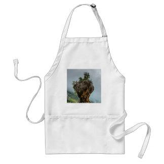 eroded balanced rock standard apron