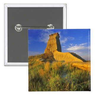 Eroded Monument in the Little Missouri 15 Cm Square Badge