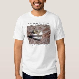 Eroded shell, Los Gatos anchorage Shirts